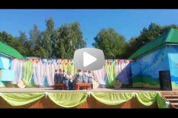 Государственный вокально-хореографический ансамбль «Русь» на дне рождения парка «Дружба»